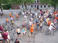 2006 - 29 juillet : Passage du Beau Vélo de Ravel à Grand-Rechain
